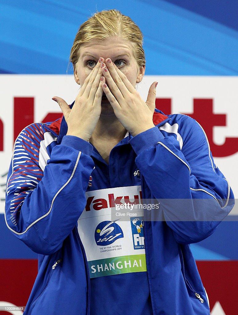 Swimming Day Fifteen - 14th FINA World Championships : News Photo