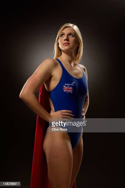 Rebecca Adlington of the British Gas Great Britain Swimming Team poses for a portrait during a British Gas photoshoot on January 18 2012 in Nottingham