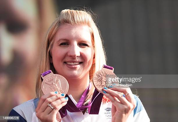 Rebecca Adlington who won bronze in the 400m and 800m freestyle at the London 2012 Olympics and gold in the 400m and 800m freestyle at the Beijing...