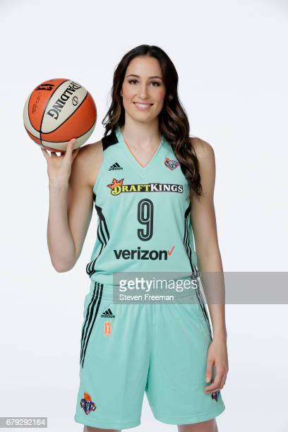 Rebecca Allen of the New York Liberty poses for a portrait at Media Day at MSG Training Center on May 4 2017 in Tarrytown New York NOTE TO USER User...