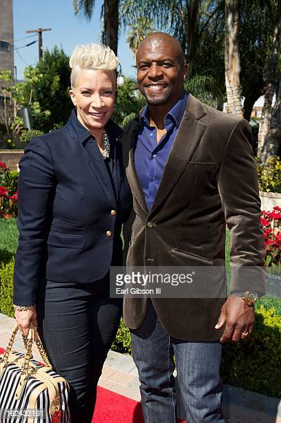 Rebecca and Terry Crews attend the 2nd Annual 'Gospel Goes to Hollywood at Taglyan Cultural Complex on February 22 2013 in Hollywood California