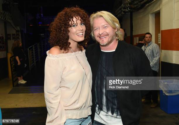 Rebecca Arthur and Philip Sweet attend the 2017 iHeartCountry Festival A Music Experience by ATT at The Frank Erwin Center on May 6 2017 in Austin...