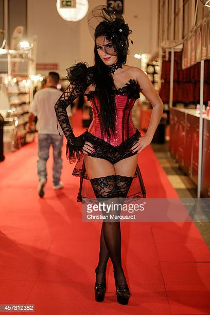 'Rebecca Backes' attends the 'Venus Erotic Fair 2014' on October 17 2014 in Berlin Germany