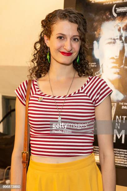 Rebecca Bex Odorisio attends 7 Splinters in Time New York premiere at The Anthology Film Archives