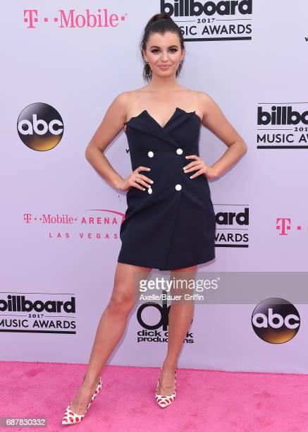 Rebecca Black arrives at the 2017 Billboard Music Awards at TMobile Arena on May 21 2017 in Las Vegas Nevada