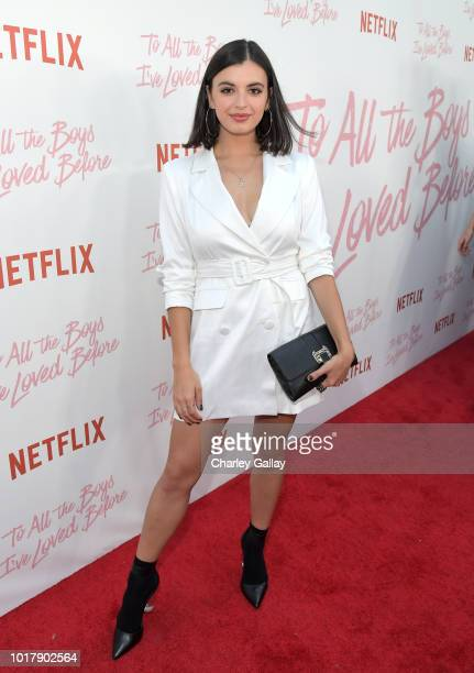 Rebecca Black attends Netflix's 'To All the Boys I've Loved Before' Los Angeles Special Screening at Arclight Cinemas Culver City on August 16 2018...
