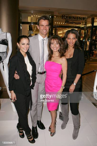 Rebecca Budig Cameron Mathison Susan Lucci and Denise Vasi attend the 'All My Children' 40th Anniversary Celebration hosted by Los Angeles Magazine...