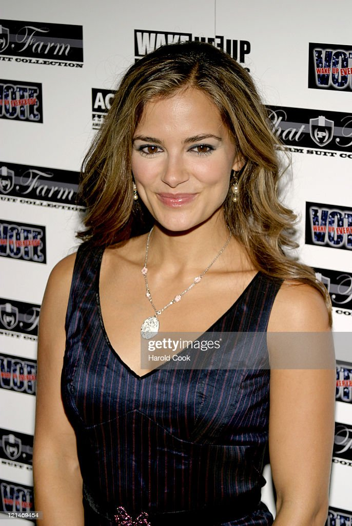 Rebecca Budig during Babyface and Russell Simmons Host 'Wake Up Everybody' Release Party at Bryant Park Hotel Cellar Bar in New York City, New York, United States.