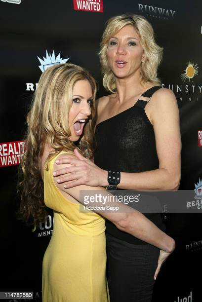 Rebecca Cardon and Jackie Warner at Tan For A Cause celebrity mixer event hosted by Jackie Warner of Bravo's Work Out on March 30 2008 at Sunstyle...