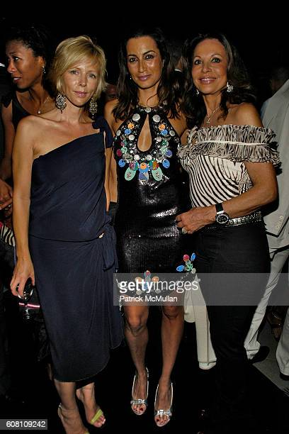 Rebecca Cassel Maria Buccellati and Anne Marie Graff attend STELLA KESAEV Of STELLA ART FOUNDATION Hosts Cocoktail And Exclusive Concert Of Italian...