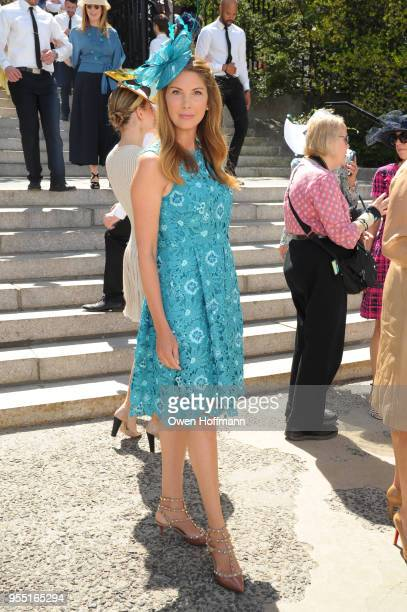 Rebecca Cavallaro attends 36th Annual Frederick Law Olmsted Awards Luncheon Central Park Conservancy at The Conservatory Garden in Central Park on...