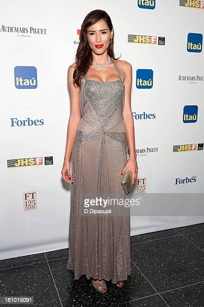 Rebecca da Costa attends the 11th Brazil Foundation NYC gala at The Museum of Modern Art on September 18 2013 in New York City