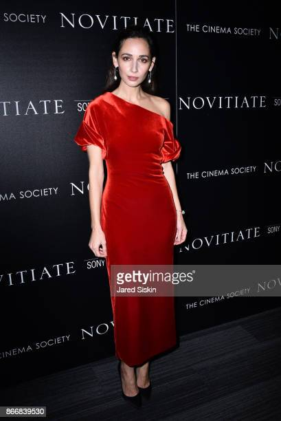 Rebecca Dayan attends Miu Miu The Cinema Society host a screening of Sony Pictures Classics' Novitiate at The Landmark at 57 West on October 26 2017...