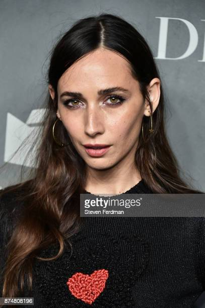 Rebecca Dayan attends the 2017 Guggenheim International Gala PreParty made possible by Dior on November 15 2017 in New York City