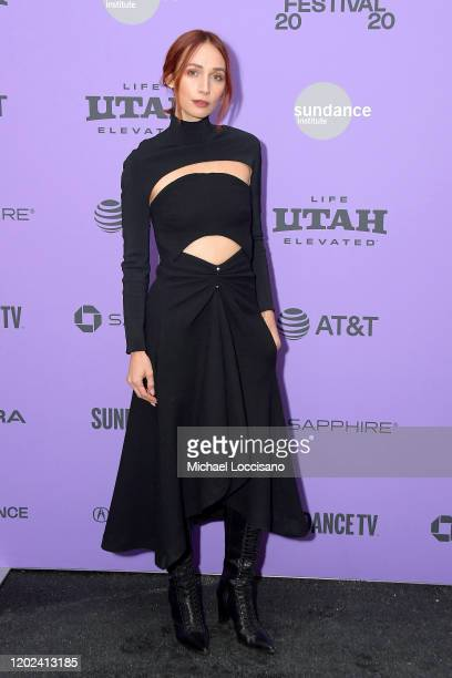 Rebecca Dayan attends the 2020 Sundance Film Festival Tesla Premiere at Library Center Theater on January 27 2020 in Park City Utah