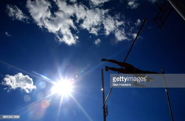 Rebecca De Martin of Italy in action during qualification for the women's pole vault final on day one of The IAAF World U20 Championships on July 10...