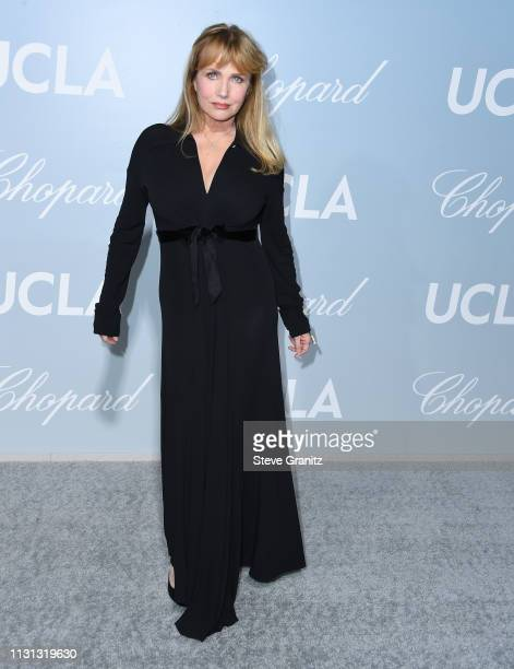 Rebecca De Mornay arrives at the Hollywood For Science Gala at Private Residence on February 21 2019 in Los Angeles California