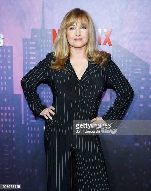 Rebecca De Mornay attends Jessica Jones season 2 New York Premiere at AMC Loews Lincoln Square on March 7 2018 in New York City