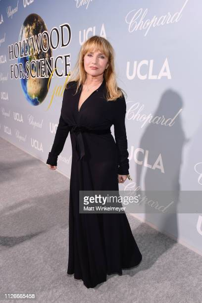 Rebecca De Mornay attends the UCLA IoES honors Barbra Streisand and Gisele Bundchen at the 2019 Hollywood for Science Gala on February 21 2019 in...