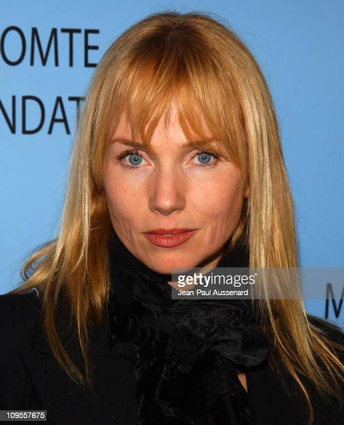 Rebecca De Mornay during Helena Christensen and Michel Comte Host Gala to Benefit the Michel Comte Foundation Arrivals at Ace Gallery in Beverly...