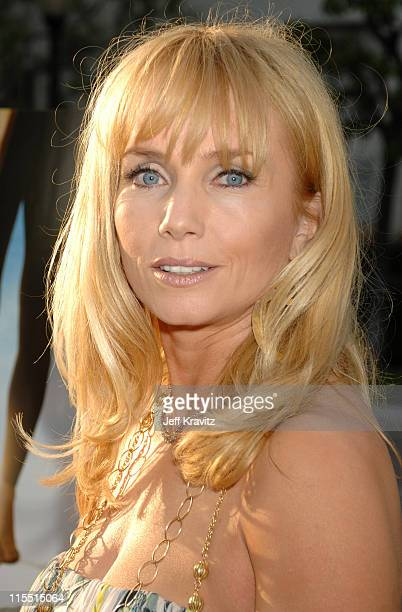 Rebecca De Mornay during Los Angeles Premiere of the HBO Original Series John From Cincinnati Red Carpet at Paramount Theater in Hollywood California...