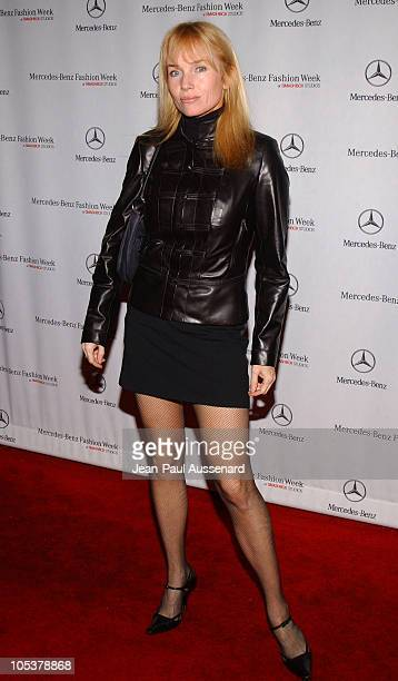 Rebecca De Mornay during MercedesBenz Fall 2004 Fashion Week at Smashbox Studios Day 4 Arrivals at Smashbox Studios in Culver City California United...