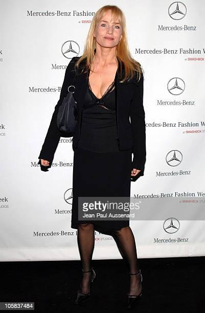 Rebecca De Mornay during MercedesBenz Fall 2006 LA Fashion Week at Smashbox Studios Day 5 Arrivals at Smashbox Studios in Culver City California...