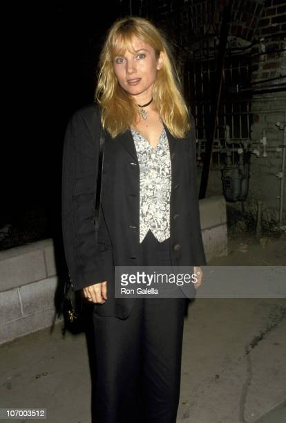 Rebecca De Mornay during Rebecca De Mornay Sighting at Roxbury Club August 14 1993 at Roxbury Club in Hollywood California United States