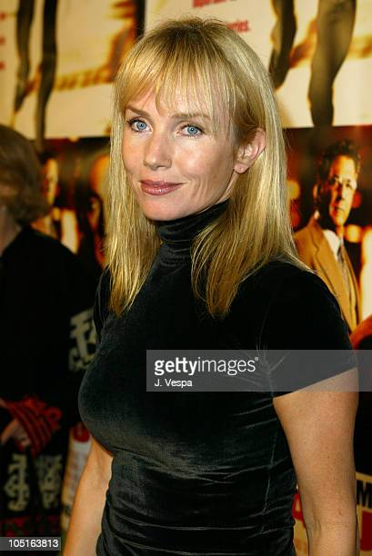 Rebecca De Mornay during 'Runaway Jury' Los Angeles Premiere Red Carpet at Cinerama Dome in Hollywood California United States