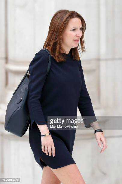 Rebecca Deacon accompanies The Duchess as she visits the new VA Exhibition Road Quarter at the Victoria Albert Museum on June 29 2017 in London...