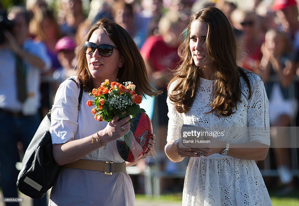 The Duke And Duchess Of Cambridge Tour Australia And New Zealand - Day 10 : News Photo