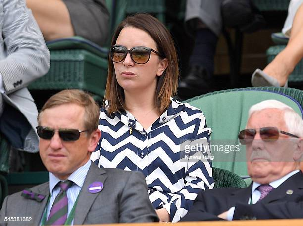 Rebecca Deacon attends day ten of the Wimbledon Tennis Championships at Wimbledon on July 07 2016 in London England