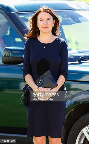 Rebecca Deacon attends the Ben Ainslie Racing America's Cup Launch Event at the National Maritime Museum in Greenwich on June 10 2014 in London...