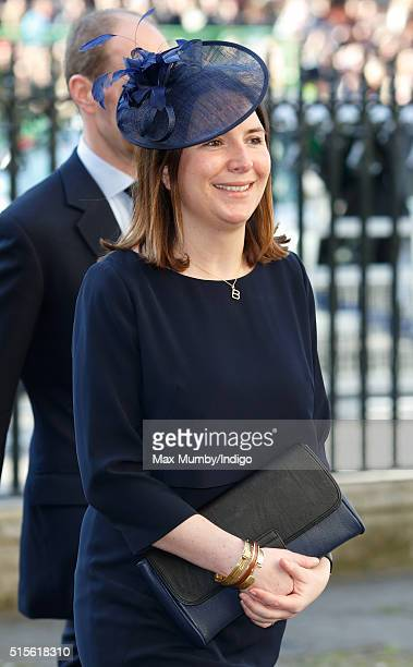 Rebecca Deacon attends the Commonwealth Observance Day Service at Westminster Abbey on March 14 2016 in London England The service is the largest...