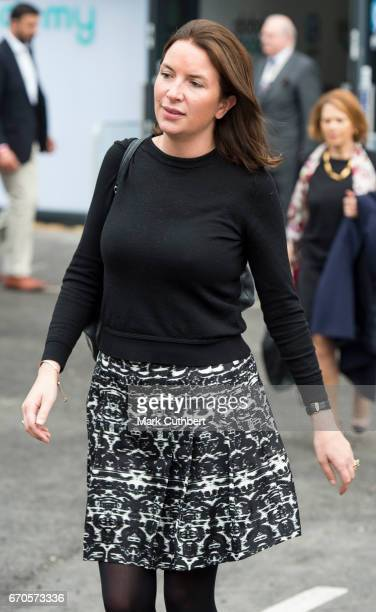 Rebecca Deacon attends the official opening of The Global Academy in support of Heads Together at The Global Academy on April 20, 2017 in Hayes,...
