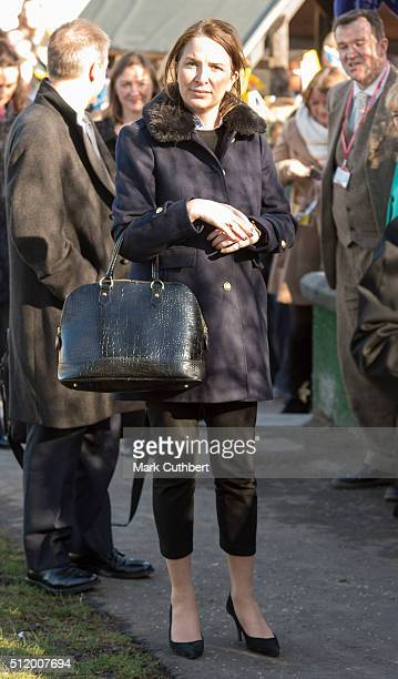 Rebecca Deacon during a visit by Catherine, Duchess of Cambridge, Royal Patron of Place2Be, to St Catherine's Primary School on February 24, 2016 in...