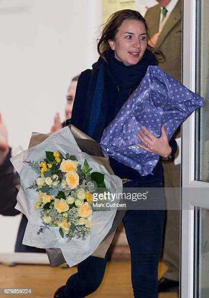 Rebecca Deacon during a visit by Catherine Duchess of Cambridge to a Cub Scout Pack Meeting to celebrate 100 years of Cubs on December 14 2016 in...