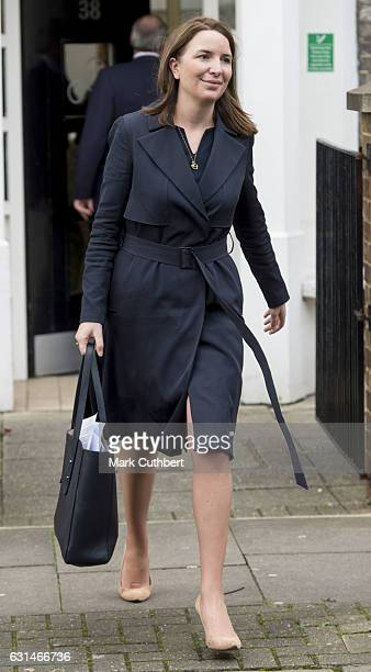 Rebecca Deacon during a visit by Catherine Duchess of Cambridge to the Anna Freud Centre on January 11 2017 in London England