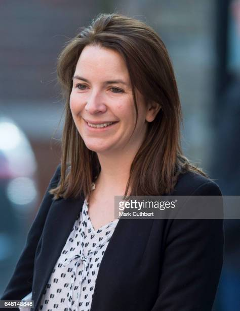 Rebecca Deacon during a visit by Catherine Duchess of Cambridge to open Ronald McDonald House Evelina London on February 28 2017 in London England