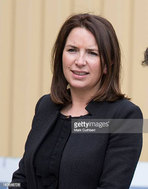 Rebecca Deacon, during a visit by Prince William and Catherine, Duchess of Cambridge to the Inauguration Of Warner Bros. Studios Leavesden in Watford...