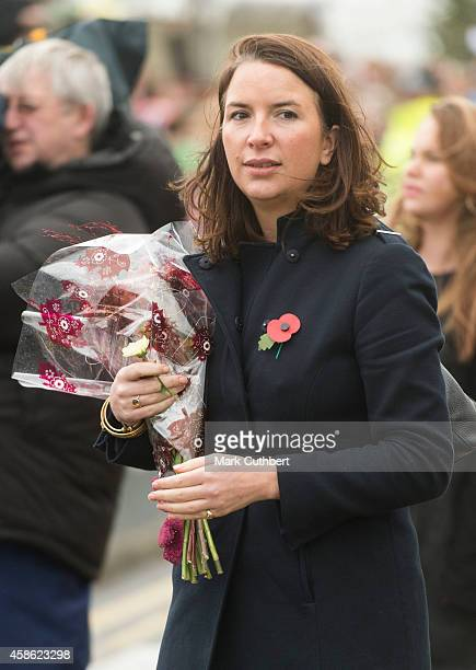 Rebecca Deacon during an official visit by Catherine, Duchess of Cambridge and Prince William, Duke of Cambridge at Pembroke Refinery on November 8,...