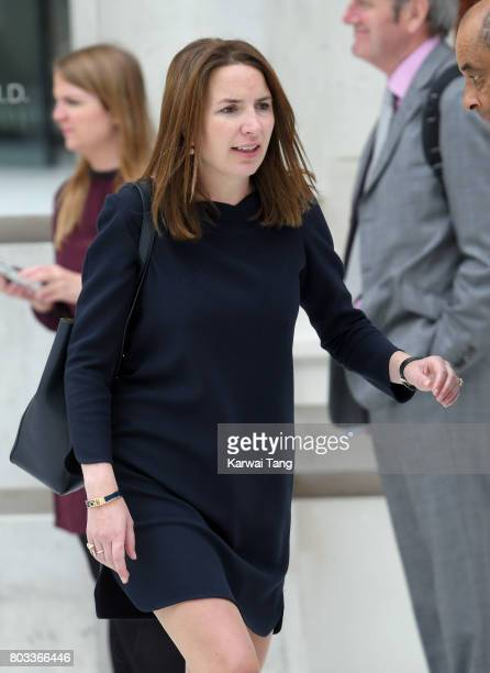 Rebecca Deacon during Catherine Duchess of Cambridge's visit to the Victoria and Albert Museum to officially open the Museum's new entrance courtyard...