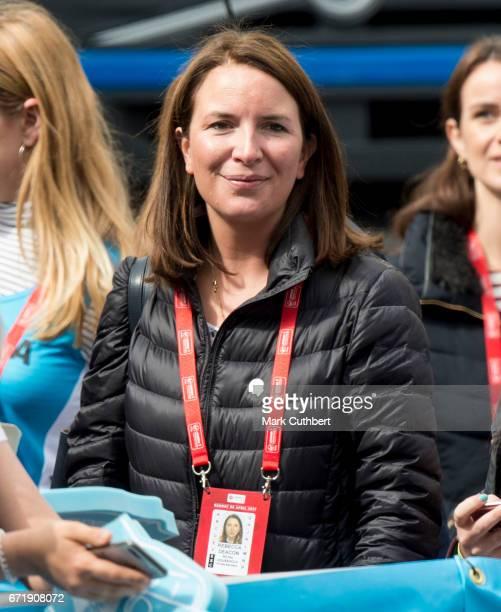 Rebecca Deacon during the 2017 Virgin Money London Marathon on April 23, 2017 in London, England.