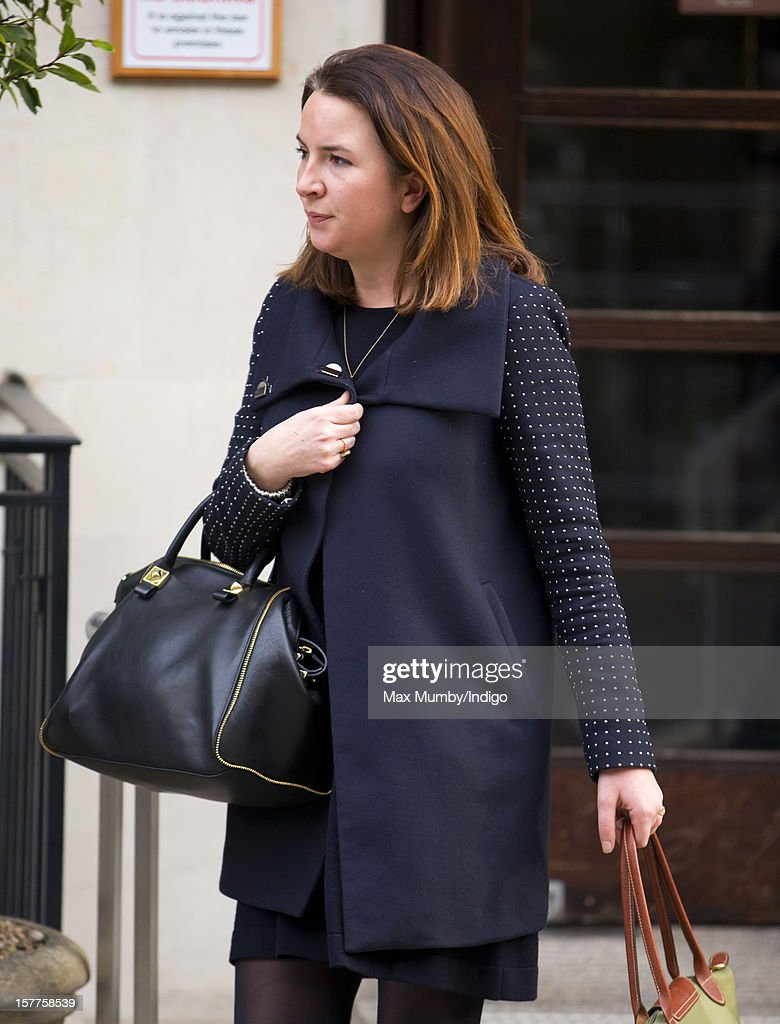 Duchess Of Cambridge Leaves The King Edward VII Hospital : News Photo
