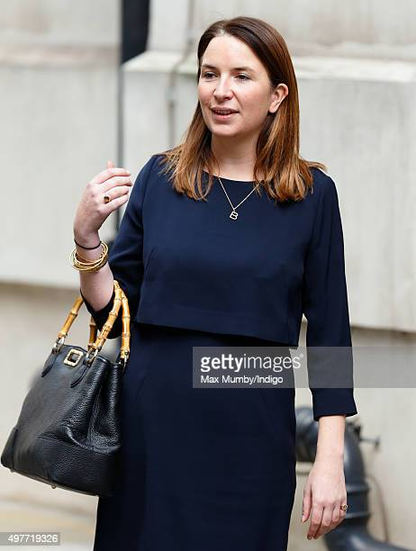 Rebecca Deacon Private Secretary to Catherine Duchess of Cambridge accompanies her to the Place2Be Headteacher Conference at Bank of America Merrill...