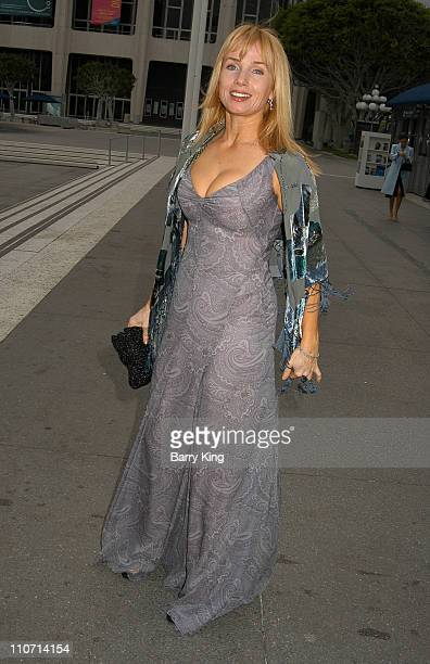Rebecca DeMornay during Baz Luhrmann's Production of Puccini's La Boheme Opening Night Los Angeles at The Ahmanson Theater in Los Angeles CA United...
