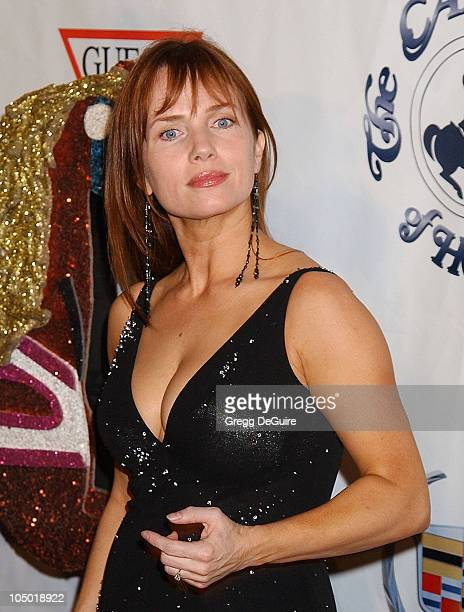 Rebecca DeMornay during The 15th Carousel Of Hope Ball Arrivals at Beverly Hilton Hotel in Beverly Hills California United States