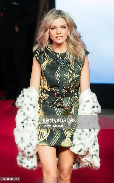 Rebecca Dudley attends the European Premiere of 'Star Wars The Last Jedi' at Royal Albert Hall on December 12 2017 in London England