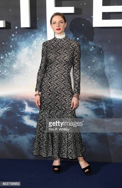 Rebecca Ferguson attends a photocall for 'Life' at the Corinthia Hotel on March 16 2017 in London England 'Life' is released in cinemas nationwide on...