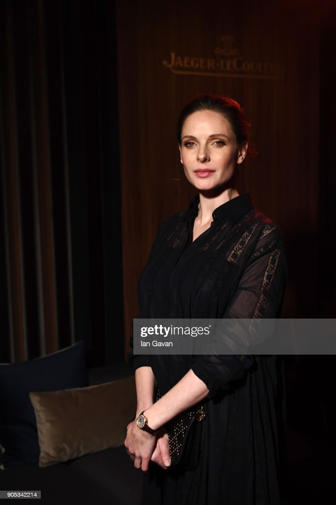 Rebecca Ferguson attends Jaeger-LeCoultre Polaris Gala Evening at the SIHH 2018 at Pavillon Sicli on January 15, 2018 in Les Acacias, Switzerland.